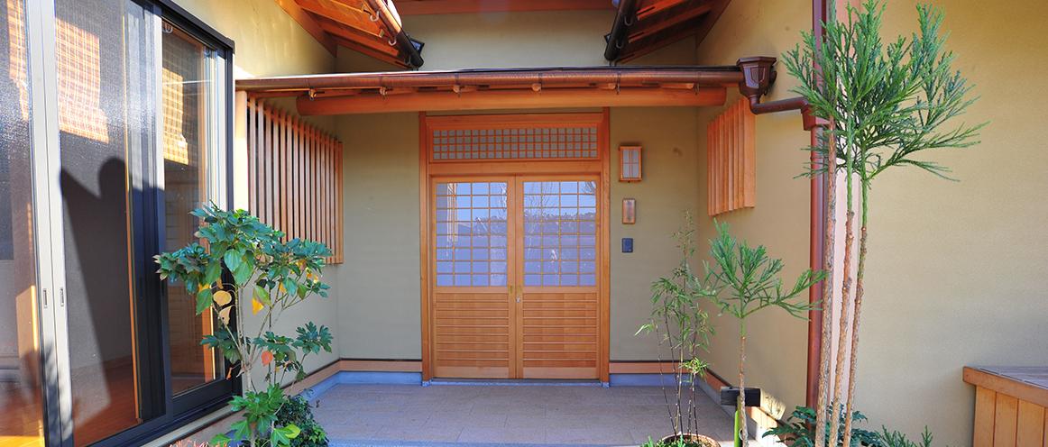 日本家屋外観